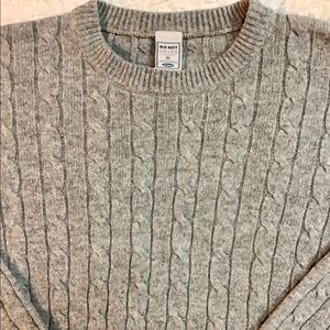 Old Navy Lambs Wool Cashmere Blend Knit Sweater